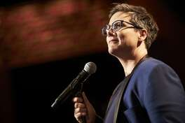"Australian comedian Hannah Gadsby talks about her life the stand-up special ""Nanette."""