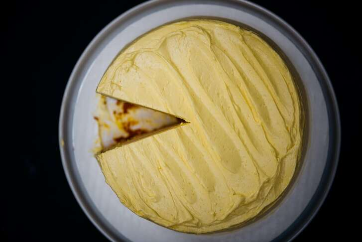 Mango cake by Nik Sharma