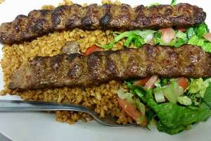 The Adana Kabab at the My Gyro Turkish restaurant in Stratford.