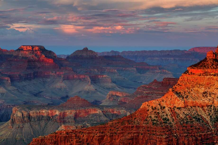 An Arizona woman hiking in the Grand Canyon fell to her death Friday afternoon, park officials said. Photo: Don Smith/Getty Images / Copyright 2012 Don Smith