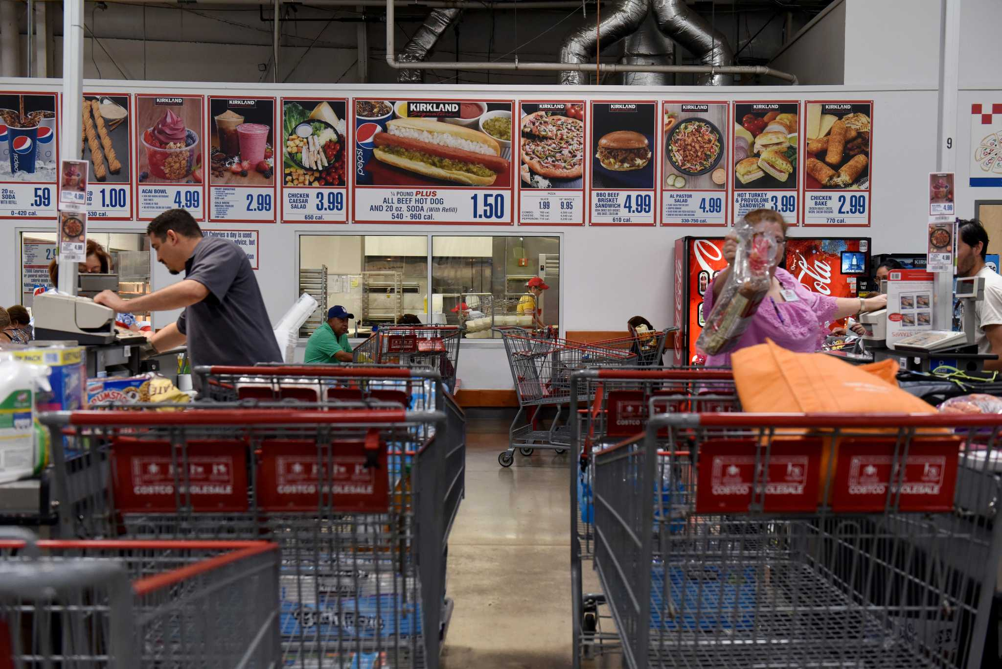 Costco is taking Polish hot dogs off its food court menu