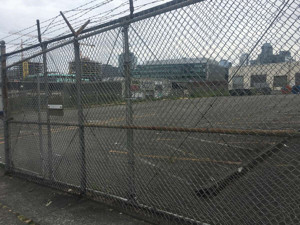 This site at Eighth Avenue North and Aloha Street in South Lake Union is where Seattle plans to put a tiny house village to offer transitional housing to people experiencing homelessness. The site, which has triggered plenty of backlash from neighbors, also drew a lawsuit over the city's permitting process. No work has begun yet to set up the encampment, but the size and scope of it has changed dramatically. Photographed July 9, 2018.