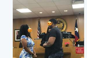 Kam Franklin, the lead singer of the Houston band The Suffers was trying to do something nice for a couple getting married at the Municipal Courts Department when she gold scolded by a bailiff.