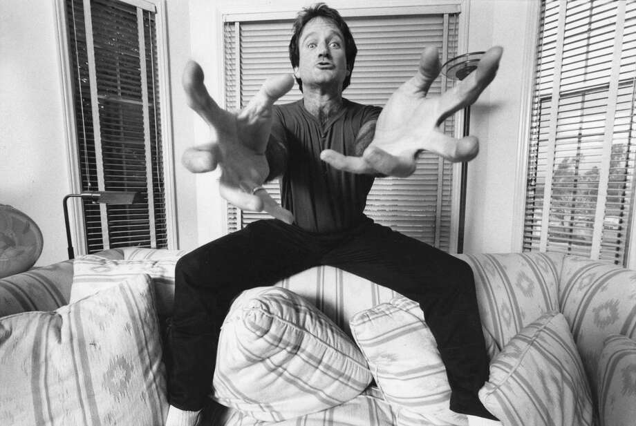 """The documentary """"Robin Williams: Come Inside My Mind"""" is a portrait of the famous comedian, whose life changed when his family moved to the Bay Area. Photo: HBO / Online_yes"""