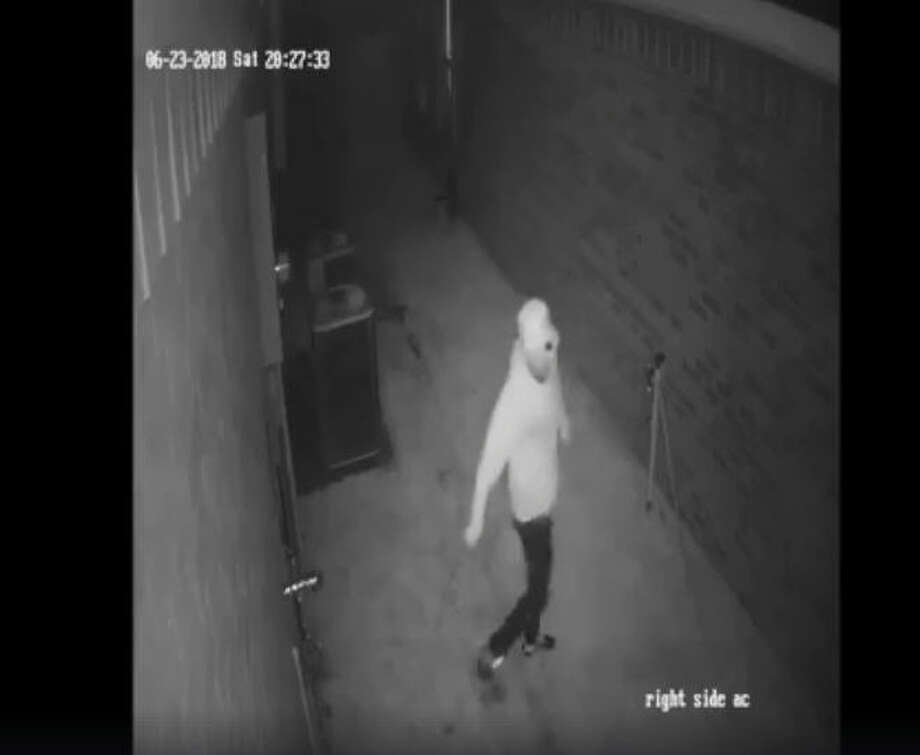 The Fort Bend County Sheriff's Office is looking for two men who allegedly broke into a Mission Bend area home last month, according to a news release issued on the sheriff's office Facebook page.  The break-in occurred around 10:15 p.m. on June 23 in the 9100 Block of Gianna Court, the sheriff's office said. Photo: Fort Bend County Sheriff's Office
