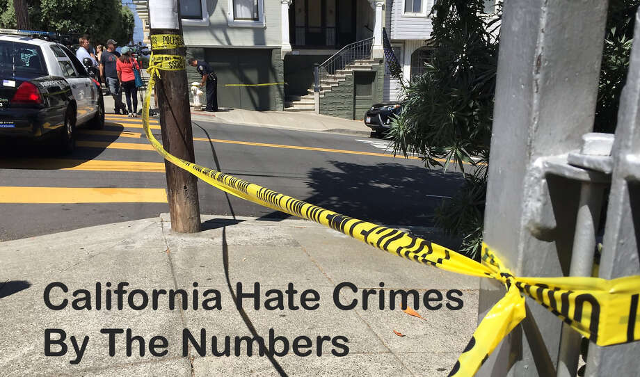 The California Department of Justice released released information on where and when hate crimes happened in California in 2017. Here are some of the findings.  Photo: SFGATE