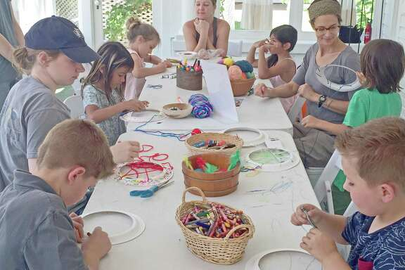 More than 100 children took part in the opening day activities for Children's Summer  History Fridays at the Fort Bend Museum on July 6.