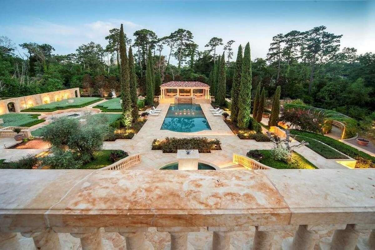 100 Carnarvon Dr, Houston, TX 77024 Price: $29,999,999 Size: 26,401 square feet/2.33 acres lot