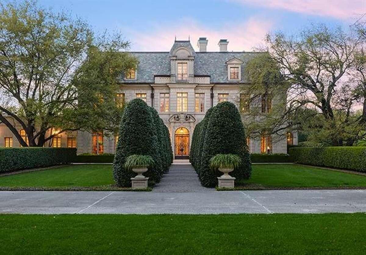 8891 Jourdan Way, Dallas, TX 75225Price:$24.5 millionSize:18,691 square feet/3.2 acres lot