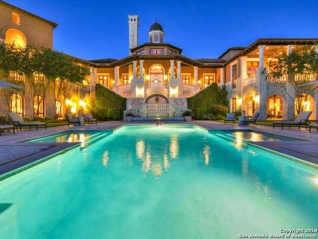 14 Crescent Park, San Antonio, TX 78257Price:$5.9 millionSize:10,163 square feet/1.13 acres lot Photo: Realtor.com
