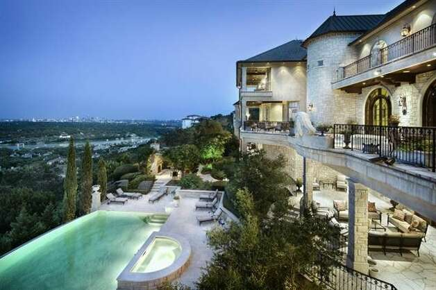 4433 River Garden Trl, Austin, TX 78746 Price:  $12.9 million Size: 20,708 square feet/3.06 acres lot Photo: Realtor.com