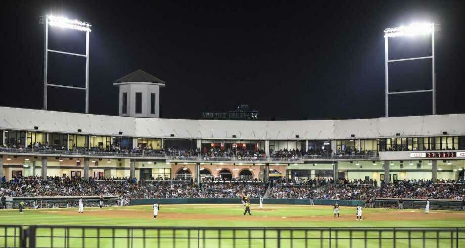 "The Tecolotes Dos Laredos game Tuesday night at Nuevo Laredo Stadium has been suspended by the Mexican Baseball League citing safety concerns ""due to recent events."" The Tecos will instead play a doubleheader Thursday at Uni-Trade Stadium starting at 5 p.m. against North division-leading Diablos Rojos del Mexico. Photo: Danny Zaragoza / Laredo Morning Times Staff File"