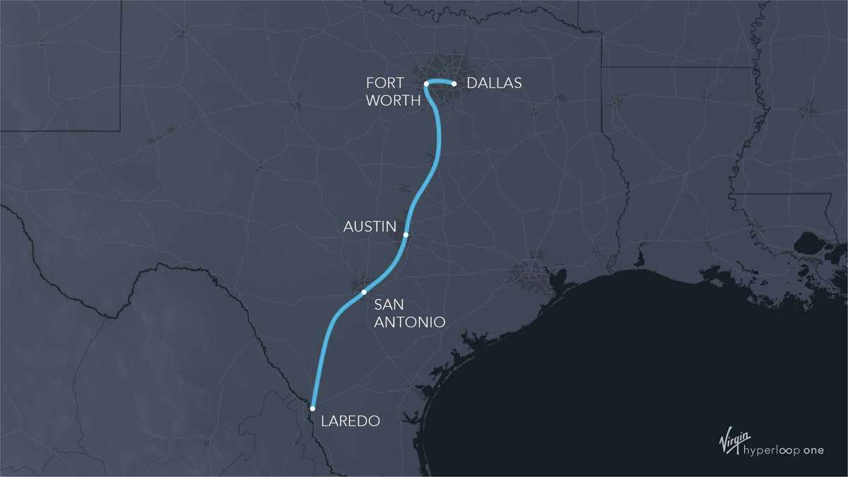 Texas officials, led by the Dallas-Ft. Worth Regional Transportation Council, are moving ahead with studies of Hyperloop technology to connect Dallas and Fort Worth, while studying the feasibility of a plan to connect Fort Worth with Laredo.