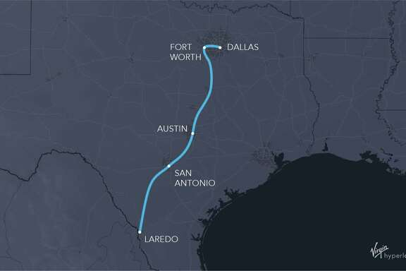 Texas officials, led by the North Texas Council of Governments, are moving ahead with studies of Hyperloop technology to connect Dallas and Fort Worth, while studying the feasibility of a plan to connect Fort Worth with Laredo.