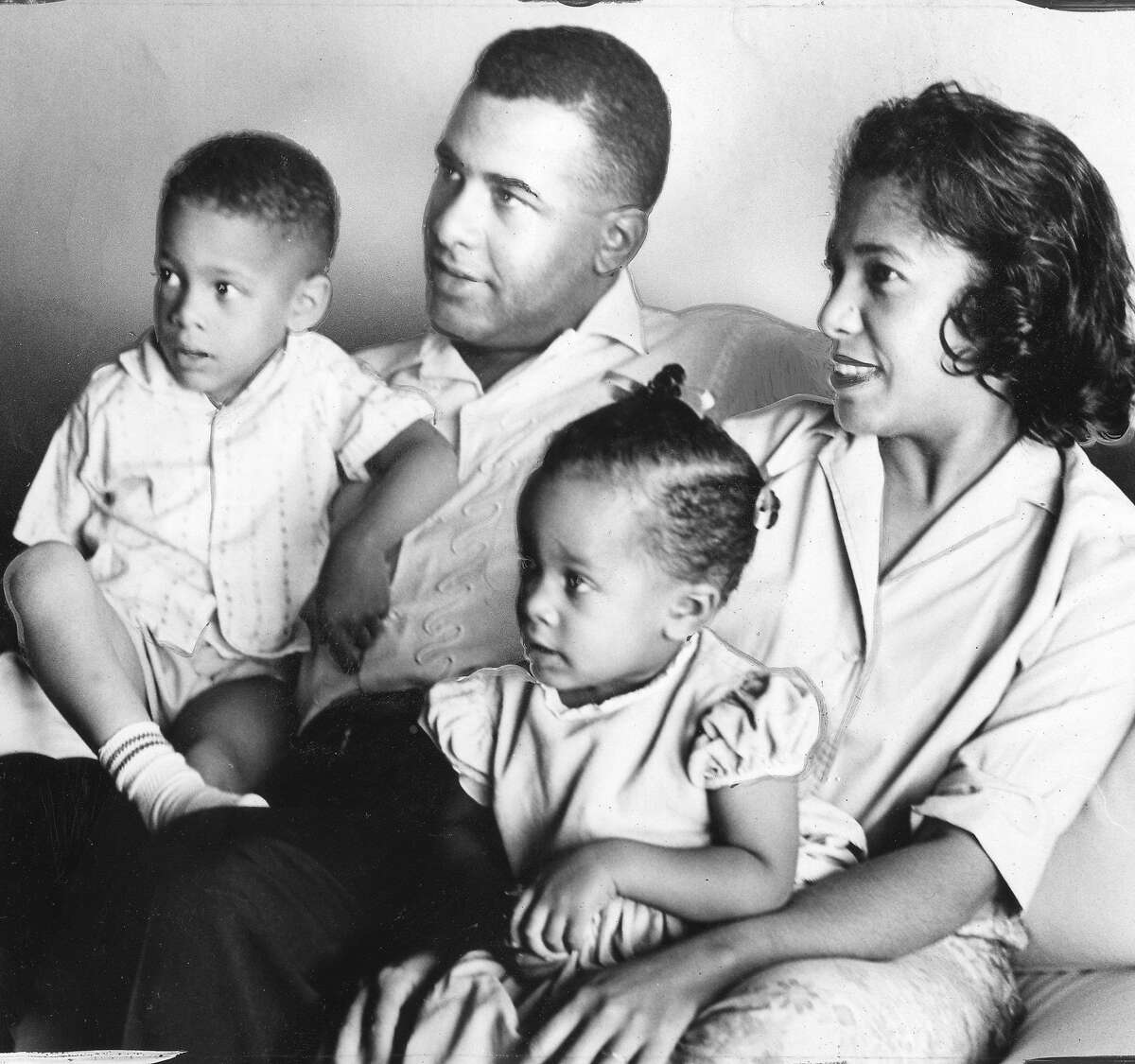 Dr. Price Cobbs, and his family would move out of Westlake after his children were harassed August 5, 1961 Photo ran 08/07/1961, p. 5