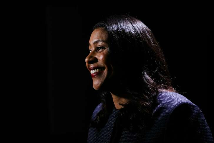 Mayor-elect London Breed gives an interview to the Chronicle at the Chronicle studio in San Francisco, California, on Monday, July 9, 2018.