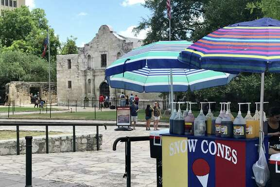 Alamo Plaza cannot be arbitrarily jerked back to an imagined appearance at some time in the past. The design plan must not diminish the plaza's role as a public space for San Antonians.