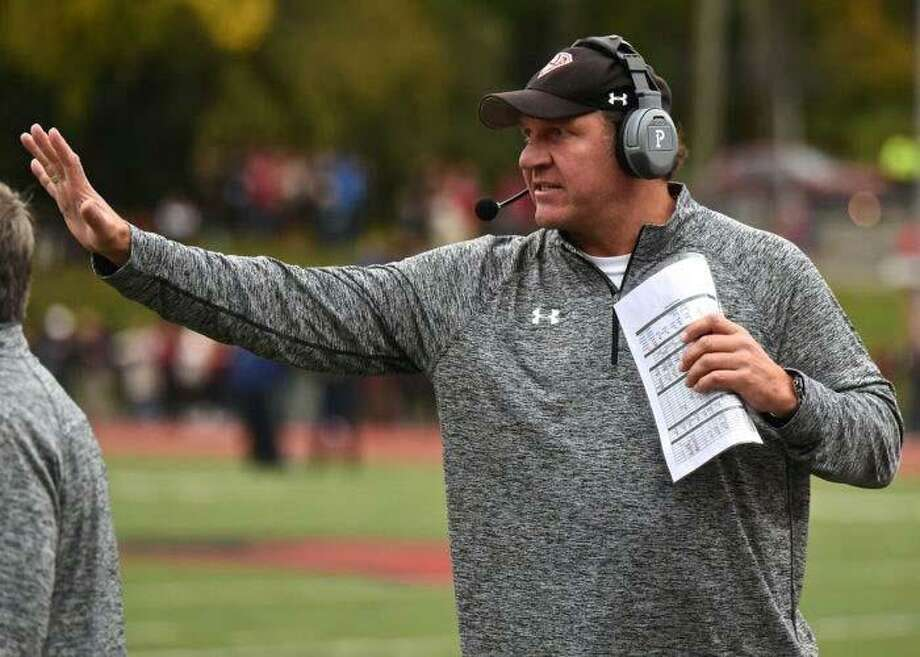 New Canaan wide receiver coach Jason Cooper died unexpectedly on Saturday. A former standout at New Canaan, Cooper played at Duke before a brief NFL career. Photo: Contributed Photo / Contributed Photo / Stamford Advocate Contributed