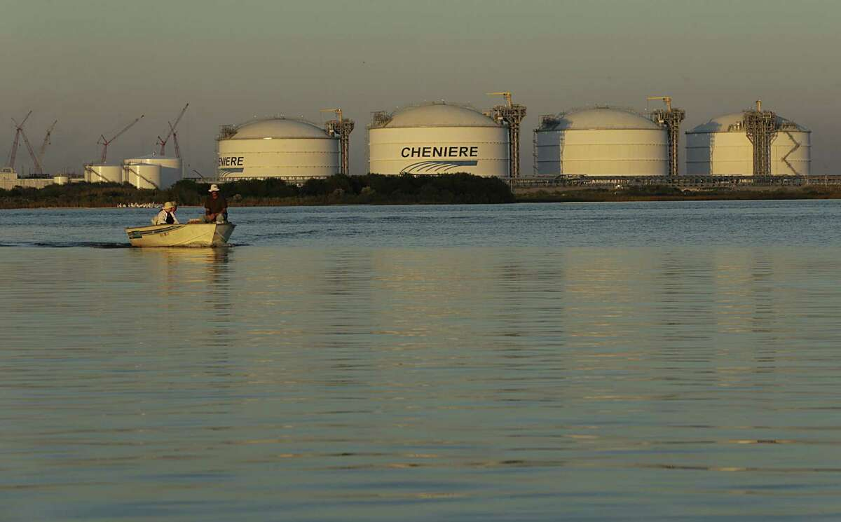 Cheniere's Sabine Pass LNG terminal.
