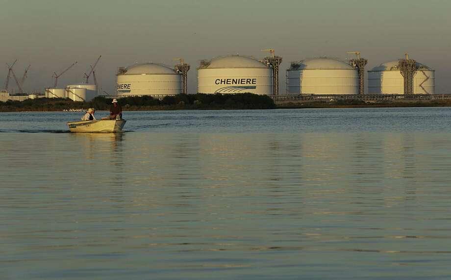 Cheniere's Sabine Pass LNG terminal. Photo: James Nielsen, Staff / Houston Chronicle / © 2016  Houston Chronicle