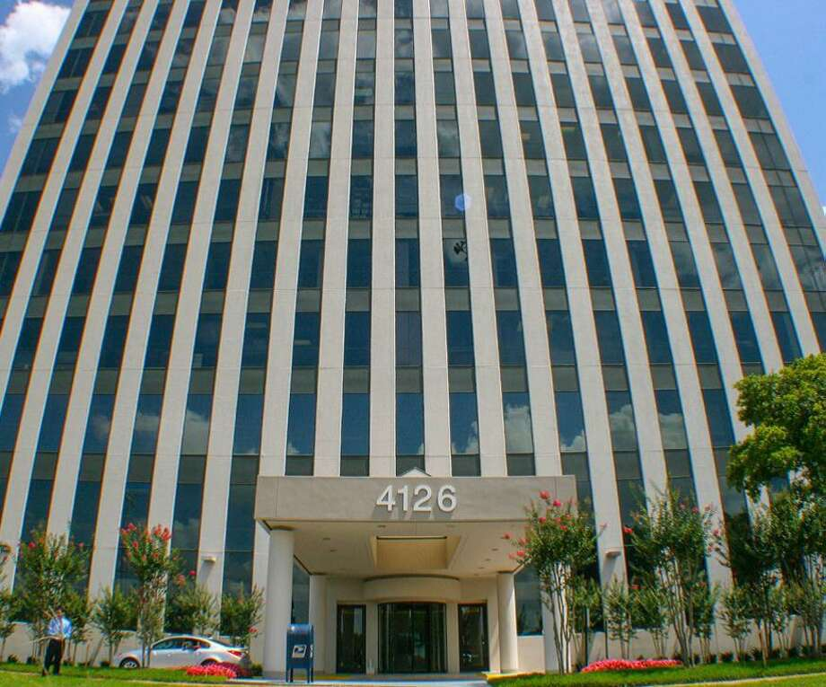 The 4126 Southwest Freeway officebuilding is being renamed T-Mobile Tower. Photo: Courtesy Of Avison Young