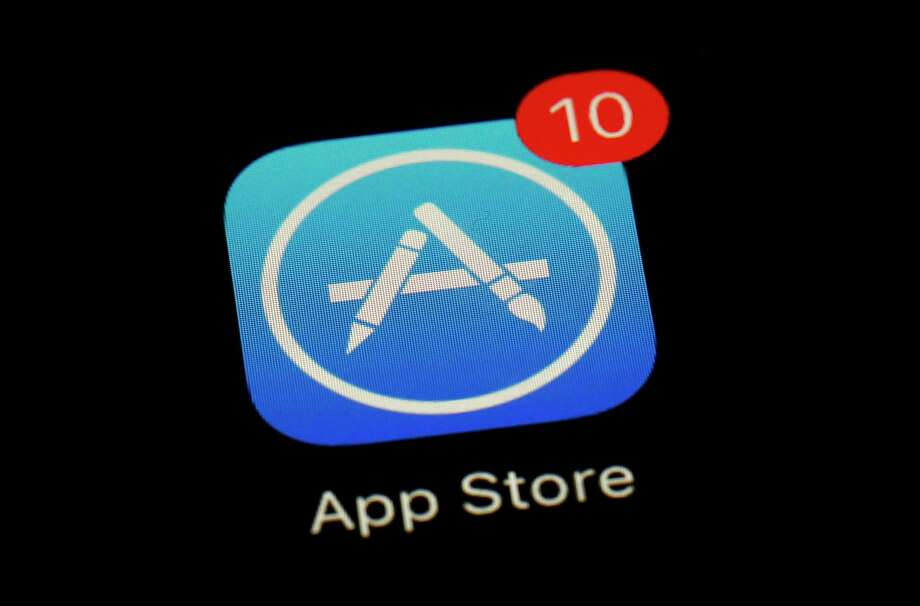 FILE - This March 19, 2018 file photo shows Apple's App Store app in Baltimore. Since its debut 10 years ago Tuesday, July 10, 2018, Apple's app store has unleashed new ways for us to work, play, and become lost in our screens. (AP Photo/Patrick Semansky, File) Photo: Patrick Semansky / Copyright 2018 The Associated Press. All rights reserved.