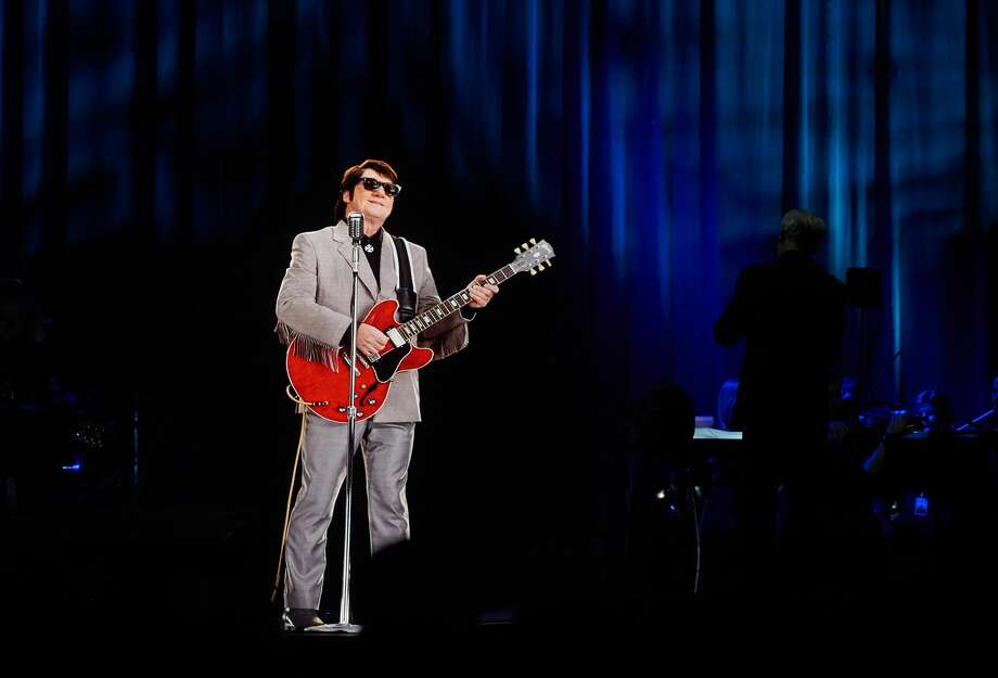"""In Dreams"" - Roy Orbison in Concert during The Hologram UK Tour at Eventim Apollo on April 19, 2018 in London, England. Photo: Tabatha Fireman/Getty Images For BASE Holograms"