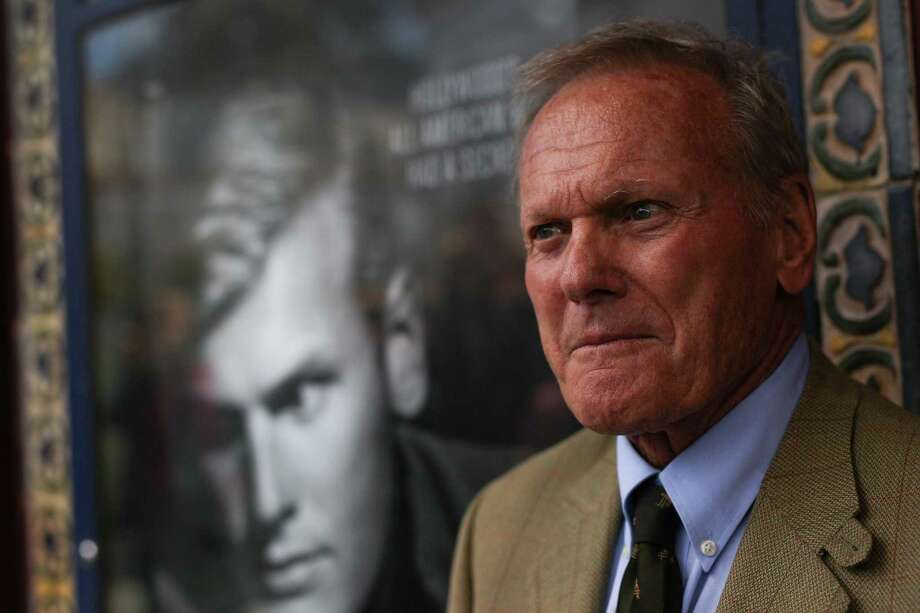 Tab Hunter, who didn't want to watch himself acting. Photo: Loren Elliott / The Chronicle 2015 / ONLINE_YES