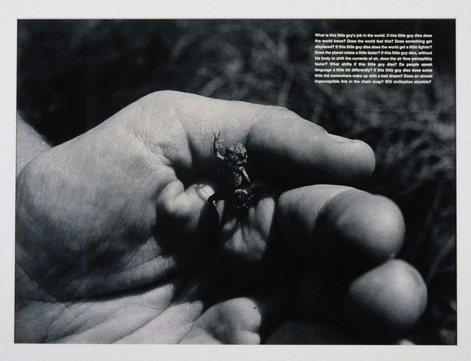 """What Is This Little Guy's Job in the World"" by David Wojnarowicz is also in the show. Photo: © David Wojnarowicz 1990 / Courtesy Of The Estate Of David Wojnarowicz And P.P.O.W., New York"