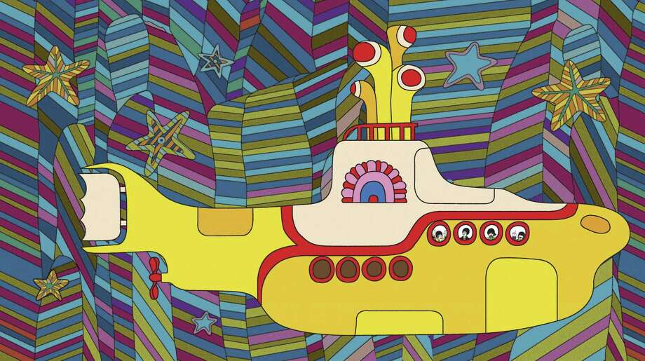 "The animated Beatles movie ""Yellow Submarine"" is a surreal tale with real songs. Photo: Subafilms Ltd. / Associated Press"