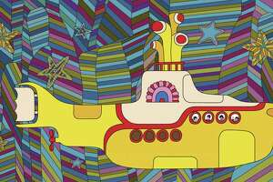 """The animated Beatles movie """"Yellow Submarine"""" is a surreal tale with real songs."""