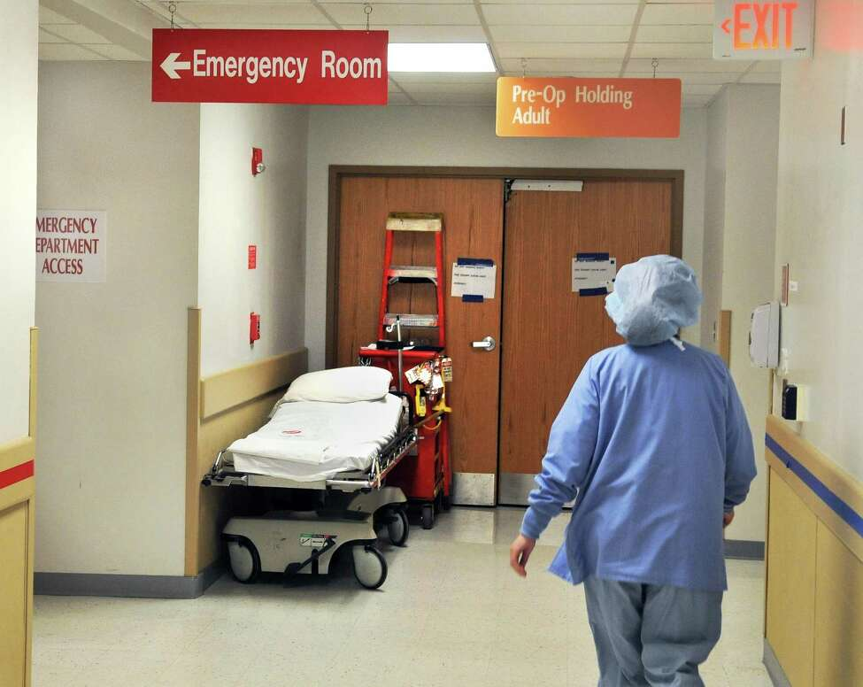 An emergency room entrance at Albany Medical Center on Thursday, March 29, 2012, in Albany, N.Y. (John Carl D'Annibale/Times Union archive)
