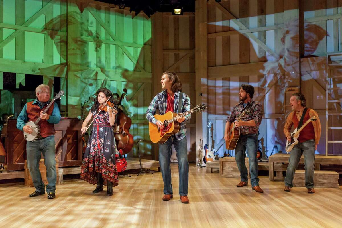 """The cast of """"Ring of Fire: The Music of Jophnny Cash"""" at Capital Repertory Theatre."""