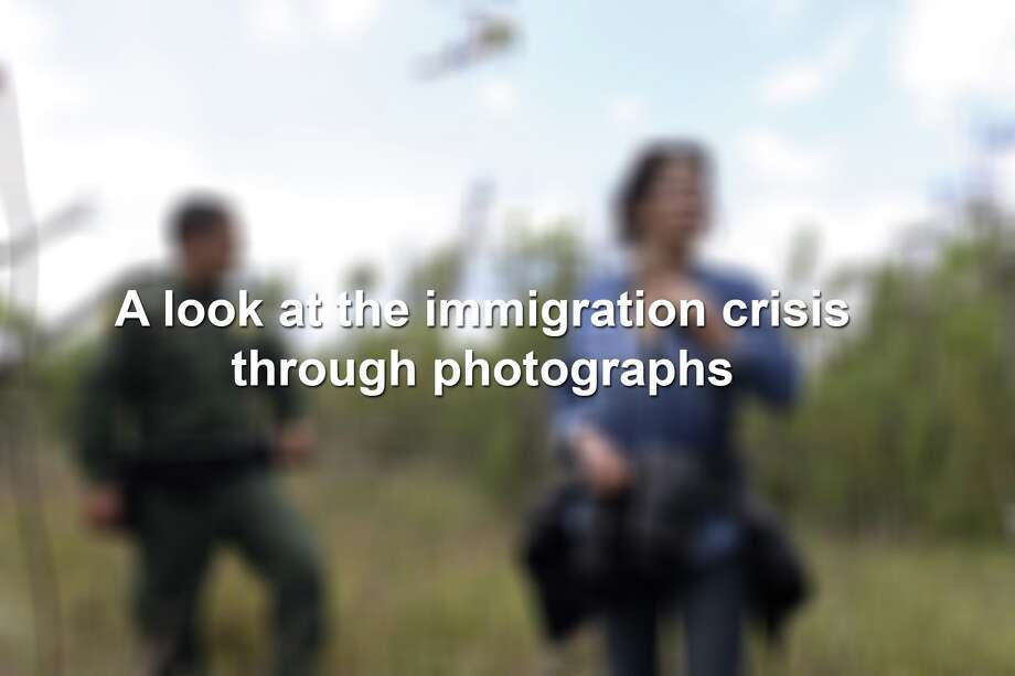 As the immigration debate rages on, take a look at what photographers are seeing through their visual reporting. Photo: San Antonio Express-News