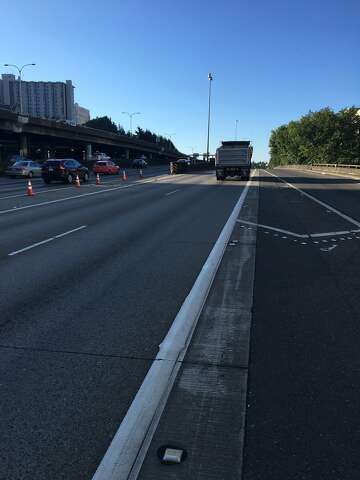 I-5, I-90 junction closed after fatal crash in Seattle - seattlepi com