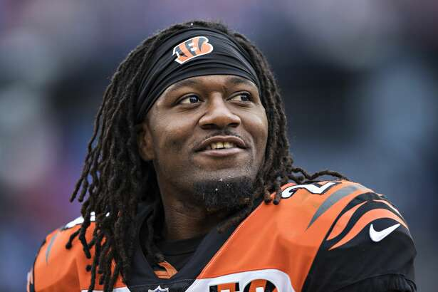 NASHVILLE, TN - NOVEMBER 12:  Adam Jones #24 of the Cincinnati Bengals on the sidelines during a game against the Tennessee Titans at Nissan Stadium on November 12, 2017 in Nashville, Tennessee.  The Titans defeated the Bengals 24-20.  (Photo by Wesley Hitt/Getty Images)