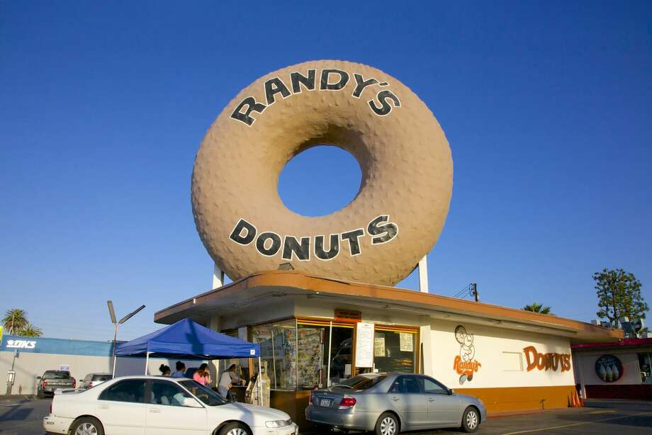 Randy's Donuts, formerly known as Big Do-Nut Drive In. Photo: Barry Winiker | Getty Images