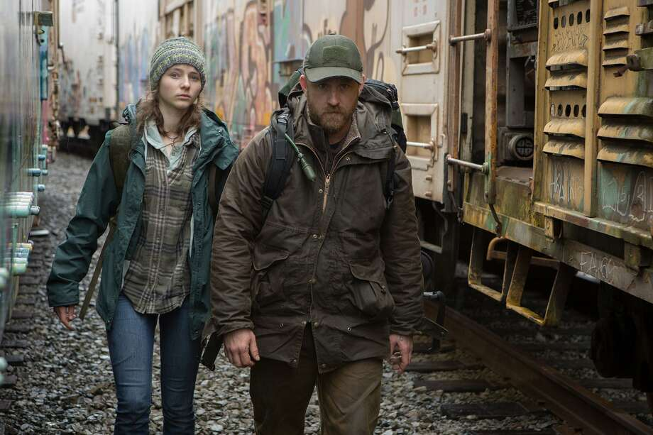 "Thomasin Harcourt McKenzie and Ben Foster star in ""Leave No trace, a film is based on Peter Rock's 2009 novel ""My Abandonment."" Photo: Scott Green, Handout / Bleecker Street / handout"