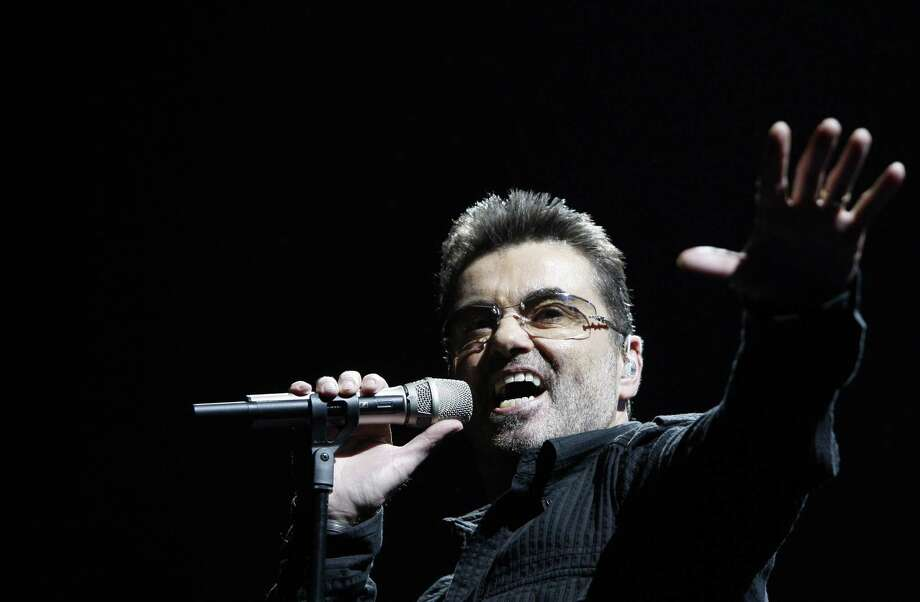 """George Michael performs during his """"Live Global Tour"""" concert in Inglewood, Calif. Photo: Matt Sayles, STF / Associated Press / AP2008"""