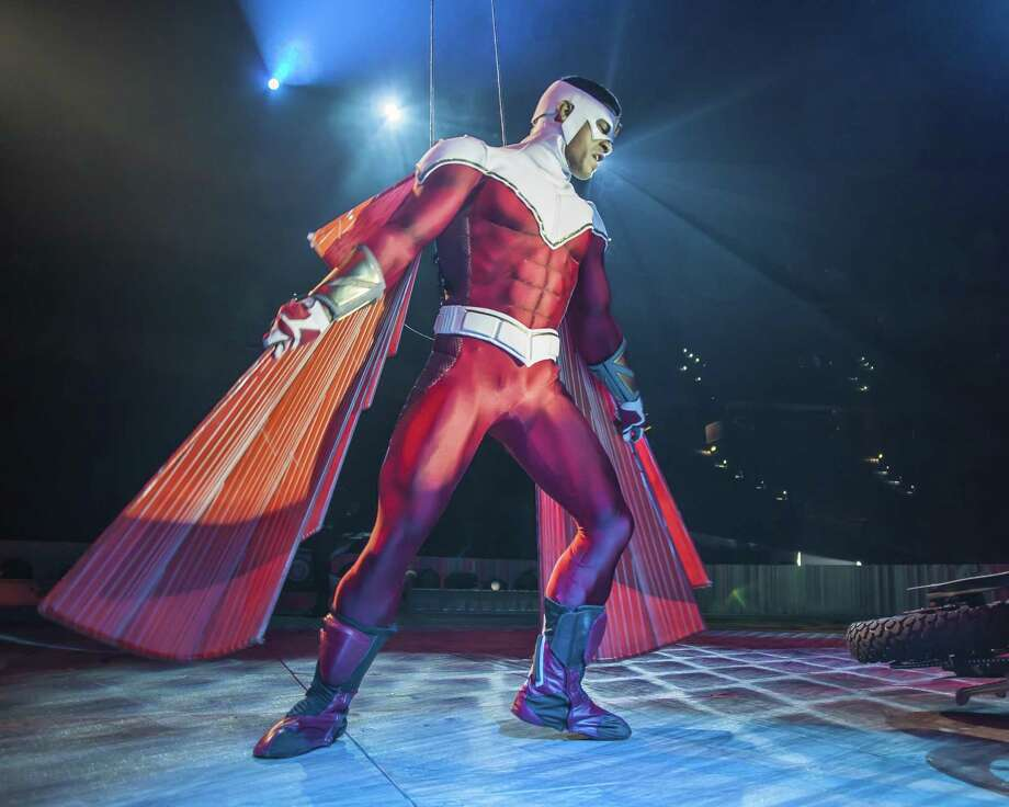 """Marvel Universe Live,"" along with the Falcon, comes to the NRG Arena this weekend. Photo: Marvel/Contributed / Contributed Photo / Connecticut Post Contributed"
