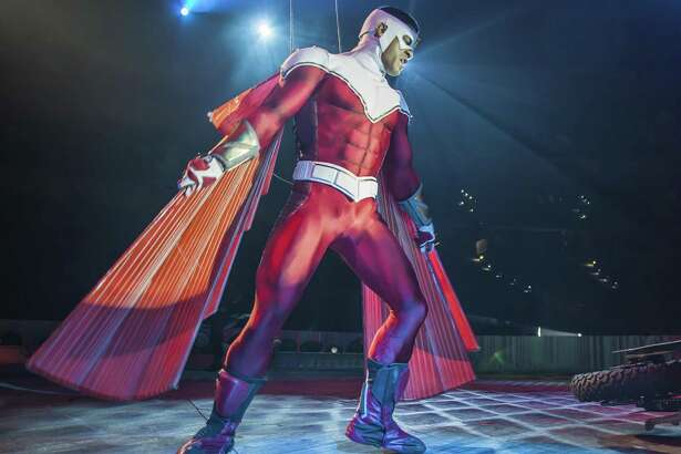 """Marvel Universe Live,"" along with the Falcon, comes to the NRG Arena this weekend."
