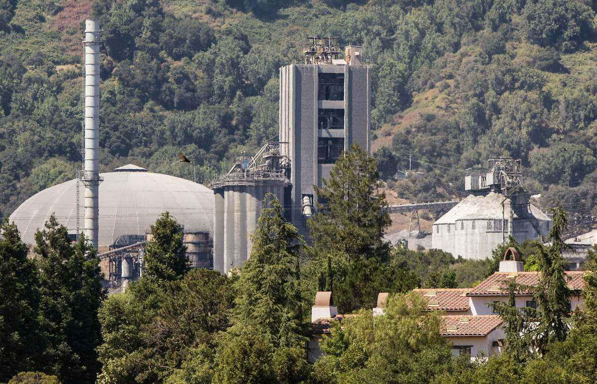 Lehigh Hanson Cement Plant is seen in Cupertino, Calif. Saturday, July 7, 2018.