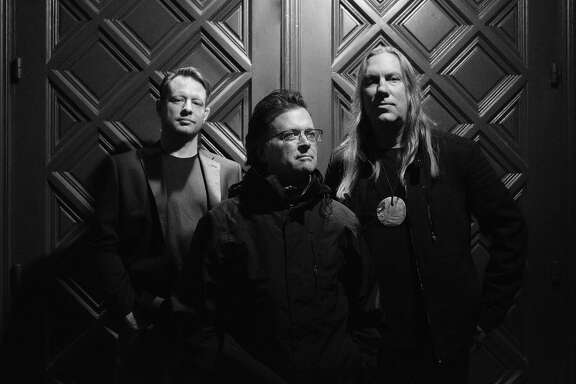 Rock band The Violent Femmes are, from left, John Sparrow, Gordon Gano and Brian Ritchie.