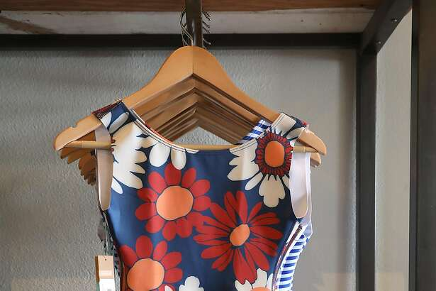 Seea swimwear displayed at  Traveler on Monday, July 2, 2018 in Pacifica, Calif.