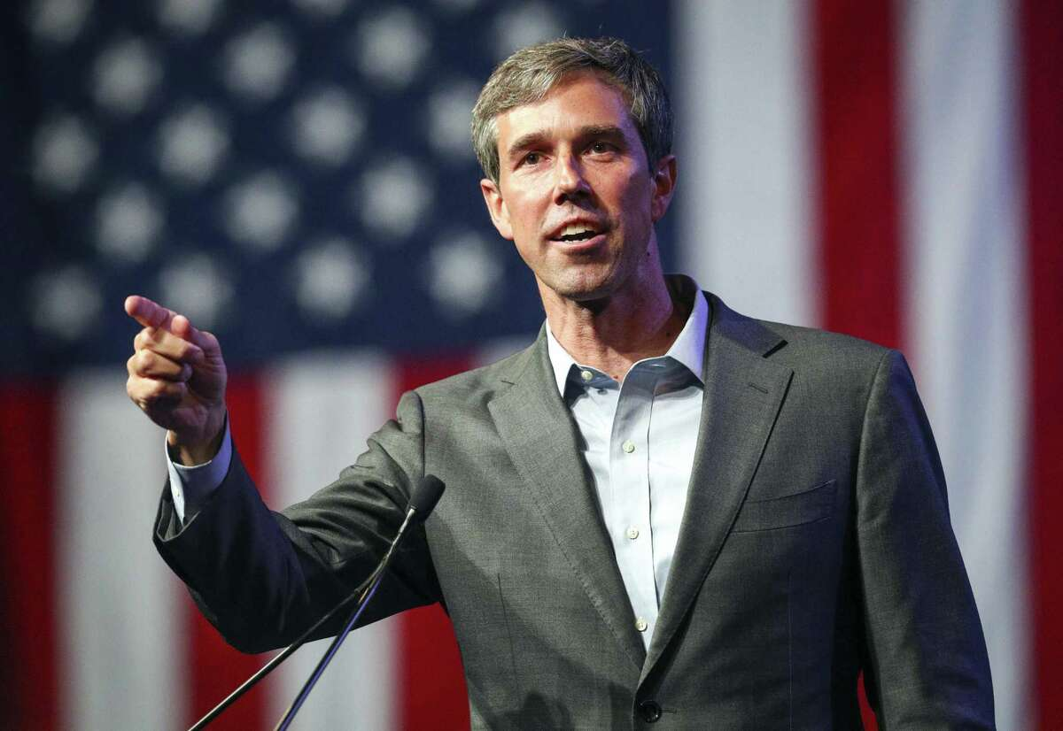 Beto O'Rourke speaks during the general session at the Texas Democratic Convention Friday, June 22, 2018, in Fort Worth, Texas. (AP Photo/Richard W. Rodriguez)