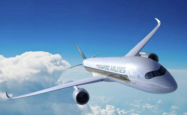 Singapore Airlines' new specially configured Airbus A350-900ULR will be used on LAX and Newark non-stop routes to Singapore Changi Airport (Image: Singapore Airlines)