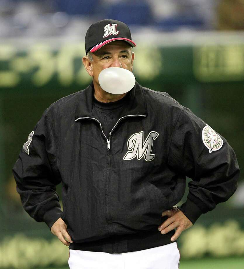 Bobby Valentine in 2006, when he was manager of the Chiba Lotte Marines at Tokyo Dome in Tokyo, Japan. Photo: Koichi Kamoshida / ST / 2006 Getty Images