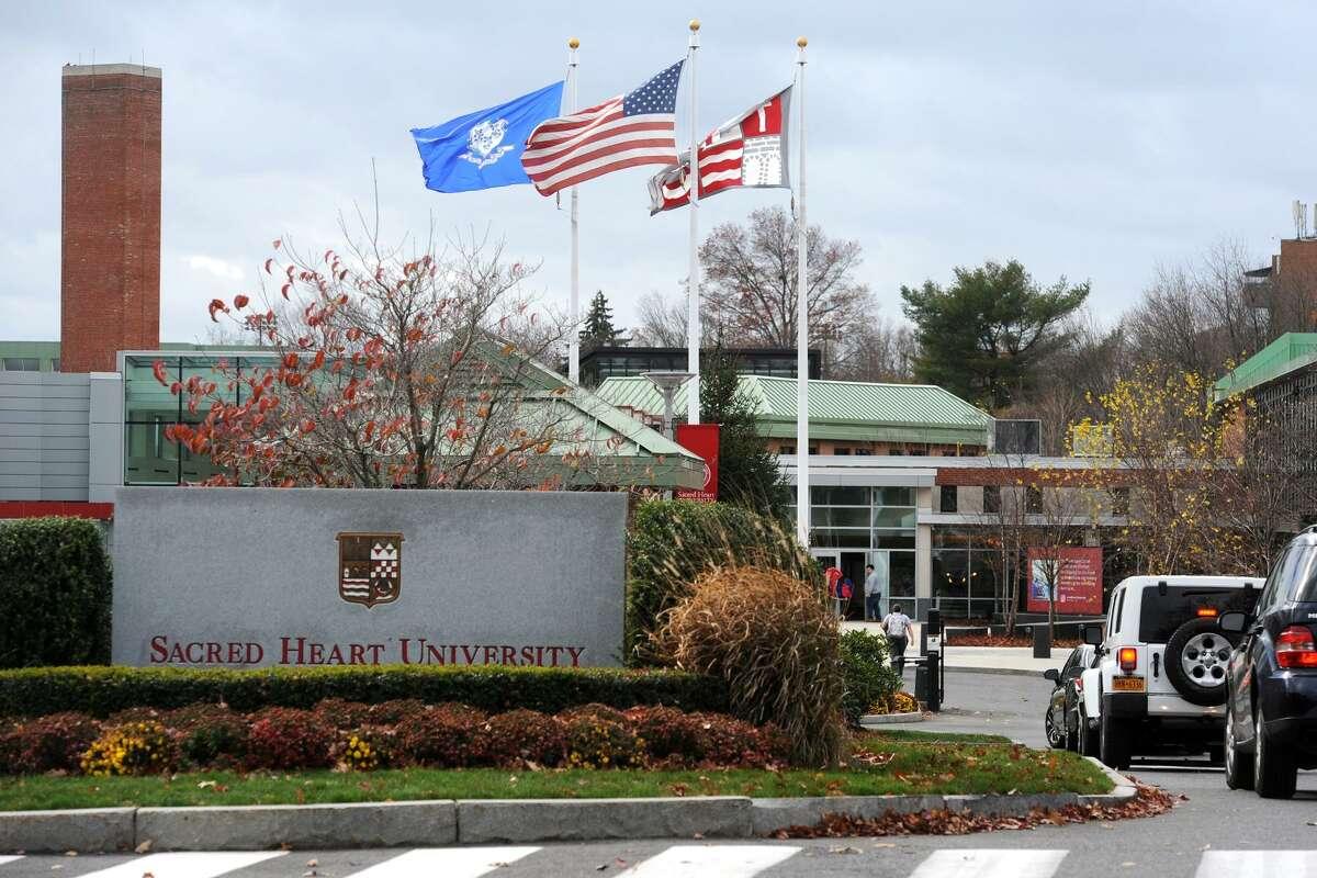 The Sacred Heart University campus in Fairfield, Conn. Nov. 21, 2016.