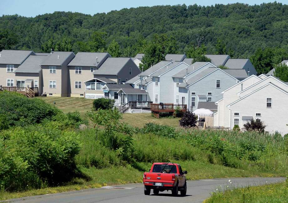 Housing development on Fairway Drive from Raylinsky Lane Wednesday July 11, 2018 in Halfmoon, NY.  (John Carl D'Annibale/Times Union) Photo: John Carl D'Annibale, Albany Times Union