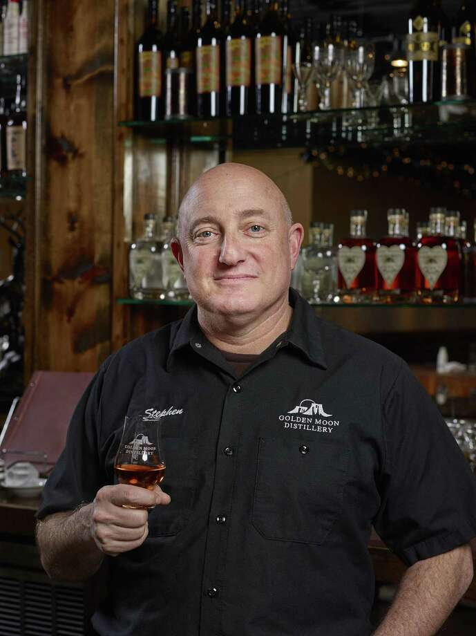 In this 2017 photo provided by Golden Moon Distillery, Steve Gould poses for a photo in Golden, Colo. Before Europe retaliated against new U.S. tariffs with taxes of its own, Gould expected export revenue at his Golden Moon Distillery in Colorado to grow 15 percent to about 25 percent this year. Now hes concerned. Golden Moon already saw an effect when then-candidate Donald Trump made trade an issue during the 2016 campaign. Gould lost one of his Mexican importers and an investor, as overseas demand for small-distiller spirits was growing. Photo: Sounders Studios /Associated Press / Sounders Studios